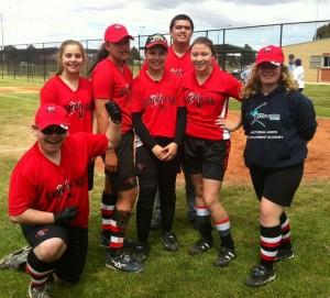 The West Coburg Red Backs Senior High team