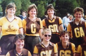 A GRADE NETBALL PREMIERS 1989