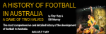 A History of Football in Australia cover