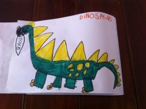 Anna dinosaur story 1