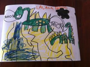 Anna dinosaur story 2