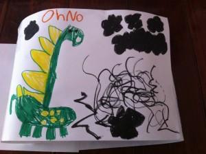 Anna dinosaur story 3