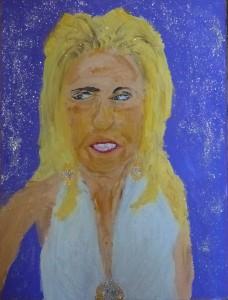 Blonde Brownlow Glitter