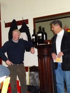 Brian Matthews and John Harms
