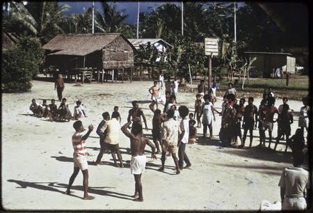 David Bridie Rugby on Manus Island 1973