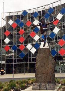 Footscray statue