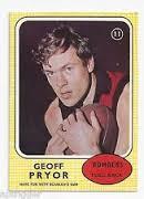 Geoff Pryor footy card