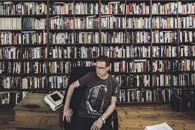 Gideon's bookshelf