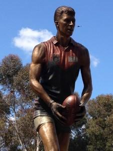 Jim Stynes statue - Teddy Edwards
