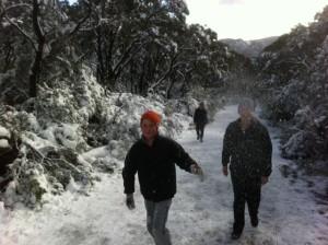 Mick Karms Mt Williams snow