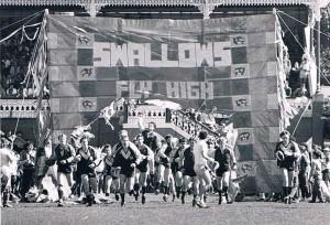NUFC Banner 1985