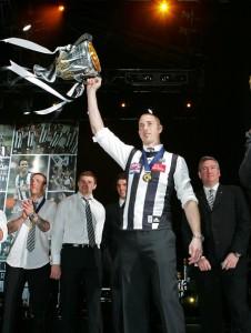 The current Collingwood Premiership Captain. Source: Scott Barbour
