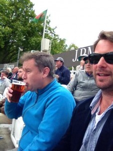 PJF and Wandering at Lord's
