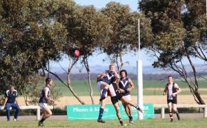 Peter Argent Southern Saints vs RSMU Hawks at Robertstown Oval