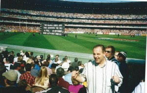 Phil Dimitriadis photo at Coll v Crows Prelim 2002