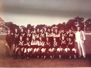 Rod Oaten Yallourn team 1963