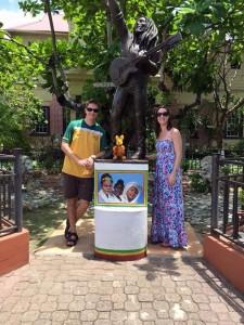 At Bob Marley Museum