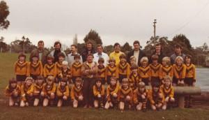 Sasha Junior footy club c1981