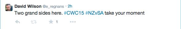 Tweet NZvSA