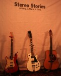 Stereo Stories Three guitars