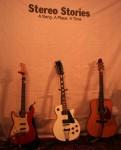 Stereo Stories Three guitars