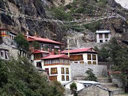 The monastery where Lakpa Sherpa's mobile phone sprang into life.