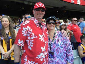 Trev & Jane - AFL GF 2015