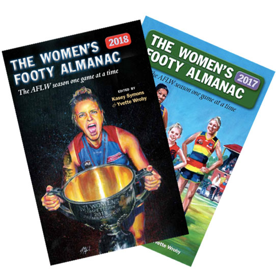 The Women's Footy Almanac 2017/2018 Bundle