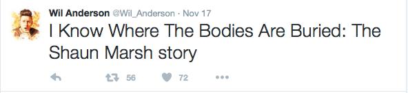 Wil Anderson tweet