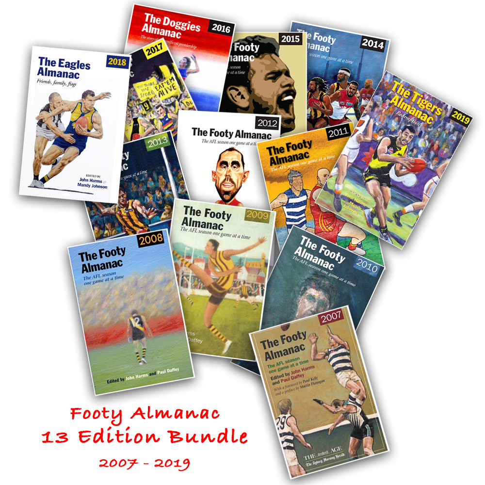 Footy Almanac 13 Edition Bundle