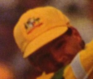 The great man Dean Jones in the wonderful gold cap