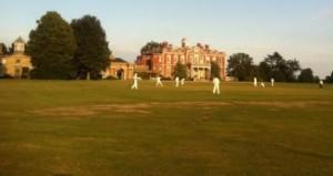 Village cricket underway at Stansted Park