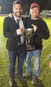 AFL Croatia men's coach, Josip Kraver