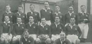 Scotland's 1926 Rugby Team