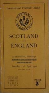 Scotland V England 1946