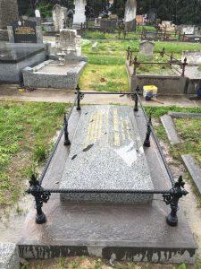 Tom Wills grave restored